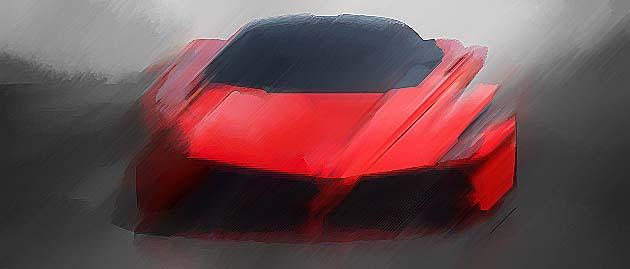Ferrari has unveiled its £1m Enzo replacement at Geneva